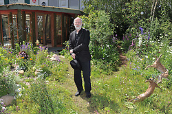 Terry Pratchett at the 2011 RHS Chelsea Flower Show VIP & Press Day at the Royal Hospital Chelsea, London, on 23rd May 2011.