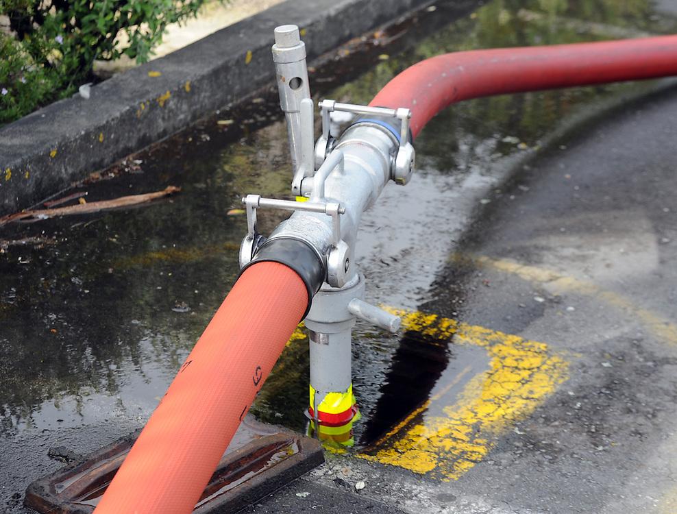 Fire Services fire hydrant, Porirua, Sunday, June 02, 2013. Credit:SNPA / Ross Setford