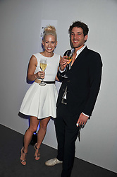 KIMBERLY WYATT and MAX ROGERS at the Vogue Festival 2012 in association with Vertu held at the Royal Geographical Society, London on 20th April 2012.