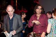 DINOS CHAPMAN;  STEFANIE BERGOT, ICA Annual Institute of Contemporary Arts Fundraising Gala. Koko's Camden. London. 24 March 2010