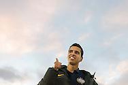ROTTERDAM, Feyenoord - PSV, voetbal Eredivisie, seizoen 2013-2014, 01-12-2013, Stadion de Kuip, PSV speler Adam Maher verlaat het veld met een cynisch glimlachje.
