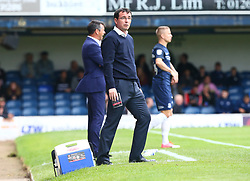 September 30, 2017 - Southend, England, United Kingdom - Blackpool manager Gary Bowyer .during Sky Bet League one match between Southend United against Blackpool at  Roots Hall,  Southend on Sea England on 30 Sept  2017  (Credit Image: © Kieran Galvin/NurPhoto via ZUMA Press)