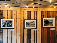 A few of my images framed for an exhibit in Topanga, California.