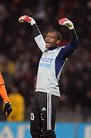 FOOTBALL - FRENCH CHAMPIONSHIP 2009/2010  - L1 - FC LORIENT v OLYMPIQUE MARSEILLE - 16/12/2009 - PHOTO PASCAL ALLEE / DPPI - STEVE MANDANDA (OM)