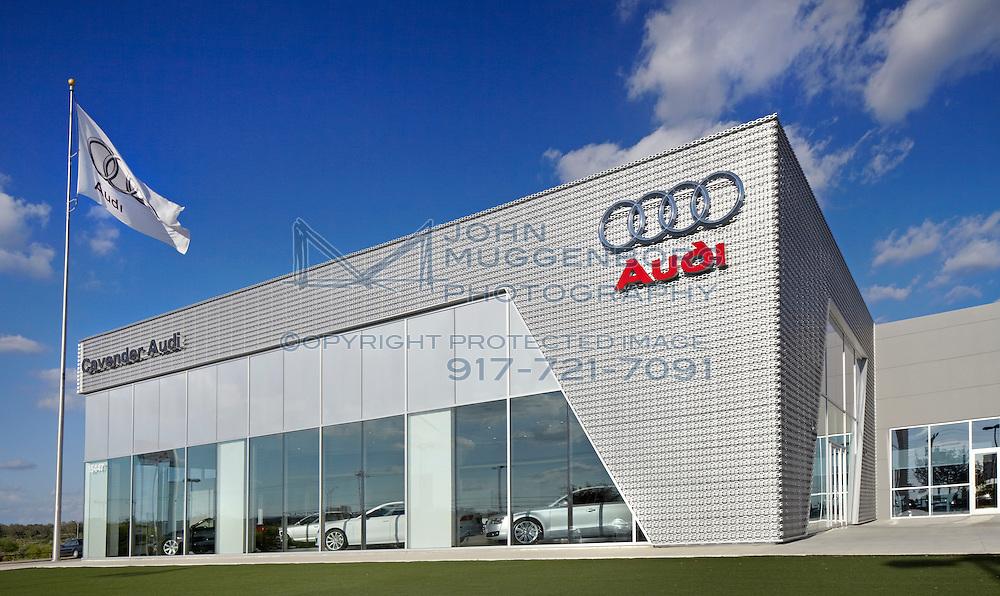 Image of the Cavender Audi Terminal dealership in San