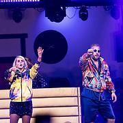 NLD/Amsterdam/20191115 - Chantals Pyjama Party in Ziggo Dome, Chantal Janzen en Tijl Beckand
