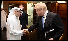 APR 15 2013 Boris Johnson Tours the UAE Day 1