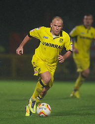 STEVENAGE, ENGLAND - Saturday, November 24, 2012: Tranmere Rovers' Andy Robinson in action against Stevenage during the Football League One match at Broadhall Way. (Pic by David Rawcliffe/Propaganda)