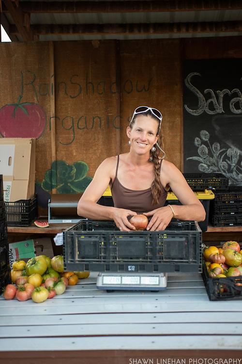Sarahlee Lawrence of Rainshadow Organics Farm