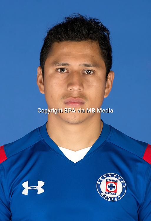 Mexico League - BBVA Bancomer MX 2014-2015 -<br /> La Maquina - Cruz Azul Fc / Mexico - <br /> Julio Cesar Dominguez Juarez