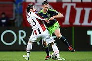 Onderwerp/Subject: Willem II - Ajax - Eredivisie<br /> Reklame:  <br /> Club/Team/Country: <br /> Seizoen/Season: 2012/2013<br /> FOTO/PHOTO: Gaby JALLO (L) of Willem II in duel with Derk BOERRIGTER (R) of Ajax. (Photo by PICS UNITED)<br /> <br /> Trefwoorden/Keywords: <br /> #04 $94 ±1342782825903<br /> Photo- & Copyrights © PICS UNITED <br /> P.O. Box 7164 - 5605 BE  EINDHOVEN (THE NETHERLANDS) <br /> Phone +31 (0)40 296 28 00 <br /> Fax +31 (0) 40 248 47 43 <br /> http://www.pics-united.com <br /> e-mail : sales@pics-united.com (If you would like to raise any issues regarding any aspects of products / service of PICS UNITED) or <br /> e-mail : sales@pics-united.com   <br /> <br /> ATTENTIE: <br /> Publicatie ook bij aanbieding door derden is slechts toegestaan na verkregen toestemming van Pics United. <br /> VOLLEDIGE NAAMSVERMELDING IS VERPLICHT! (© PICS UNITED/Naam Fotograaf, zie veld 4 van de bestandsinfo 'credits') <br /> ATTENTION:  <br /> © Pics United. Reproduction/publication of this photo by any parties is only permitted after authorisation is sought and obtained from  PICS UNITED- THE NETHERLANDS
