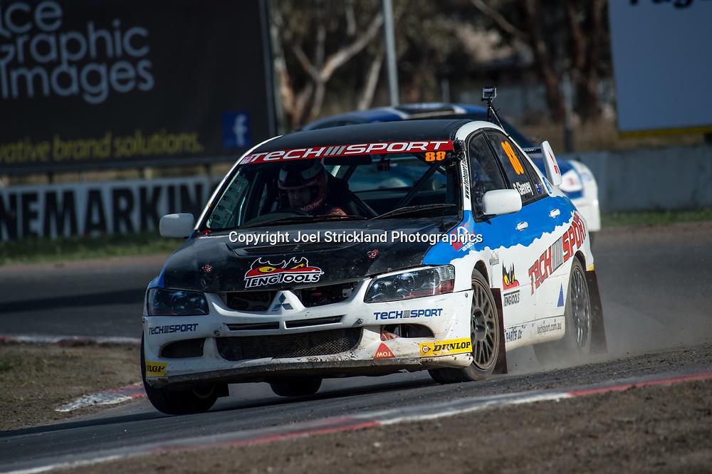 Steve GLENNEY - Mitsubishi Evo 9 - Rallycross Australia - Winton Raceway - 16th July 2017