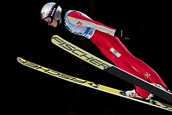 February 7, 2019 - Ljubno, Savinjska, Slovenia - Silje Opseth of Norway competes on qualification day of the FIS Ski Jumping World Cup Ladies Ljubno on February 7, 2019 in Ljubno, Slovenia. (Credit Image: © Rok Rakun/Pacific Press via ZUMA Wire)