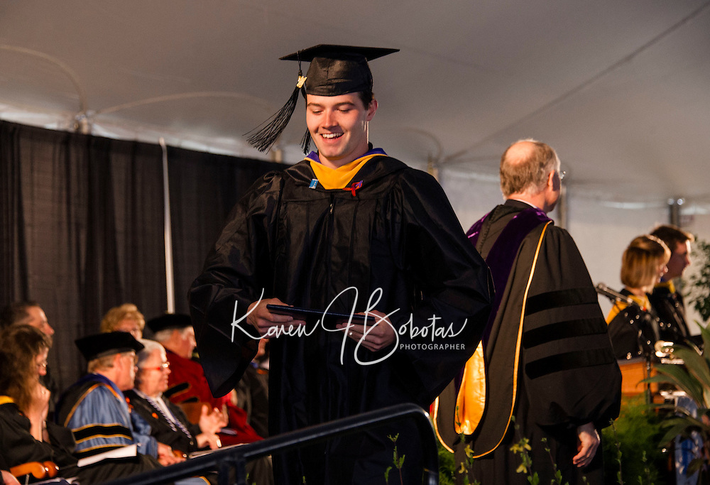 Colby Sawyer College Commencement May 7, 2016.  ©2016 Karen Bobotas Photographer
