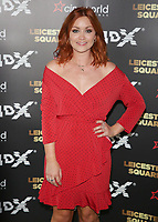 Arielle Free, Cineworld Leicester Square 4DX Gala, London UK, 19 April 2018