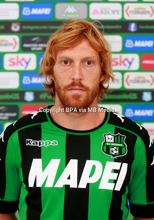 Italian League Serie A -2016-2017 / <br /> ( US Sassuolo Calcio ) - <br /> Davide Biondini