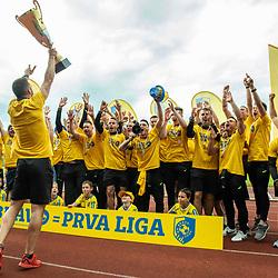 20190526: SLO, Football - 2. SNL, Celebration of NK Bravo after qualifying to Prva liga