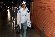 Leeds United forward Edward Nketiah (14), on loan from Arsenal, arriving during the EFL Sky Bet Championship match between Leeds United and Hull City at Elland Road, Leeds, England on 10 December 2019.