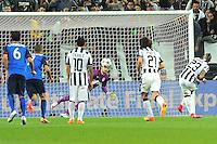 But Arturo VIDAL - 14.04.2015 - Juventus Turin / Monaco - 1/4Finale aller Champions League<br /> Photo : Jean Paul Thomas / Icon Sport