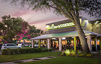 Another restaurant photography project that left me with a full belly- Mellow Mushroom in Clearwater, Florida. The architect transformed a dated building into a vibrant, engaging restaurant that I was lucky to photograph.