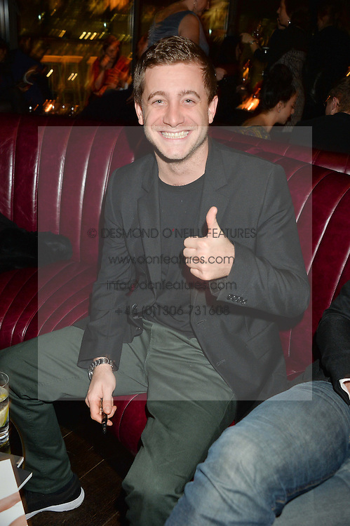 TYRONE WOOD at the Launch Of Osman Yousefzada's 'The Collective' 4th edition with special guest collaborator Poppy Delevingne held in the Rumpus Room at The Mondrian Hotel, 19 Upper Ground, London SE1 on 24th November 2014, sponsored by Storm models and Beluga vodka.