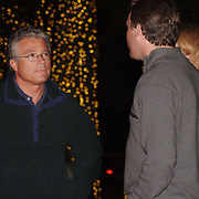 11 / 11 / 2006 -- FREEPORT , Maine -- L.L.Bean President Chris McCormick chats with family at the Illumination Ceremony which officially kicked off the Christmas Season at L.L.Bean's flagship store in Freeport. Photo by Roger S. Duncan
