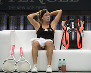 Camila Giorgi (ITA) on Day Three of the WTA Generali Ladies Linz Open at TipsArena, Linz<br /> Picture by EXPA Pictures/Focus Images Ltd 07814482222<br /> 12/10/2016<br /> *** UK & IRELAND ONLY ***<br /> <br /> EXPA-REI-161012-5006.jpg