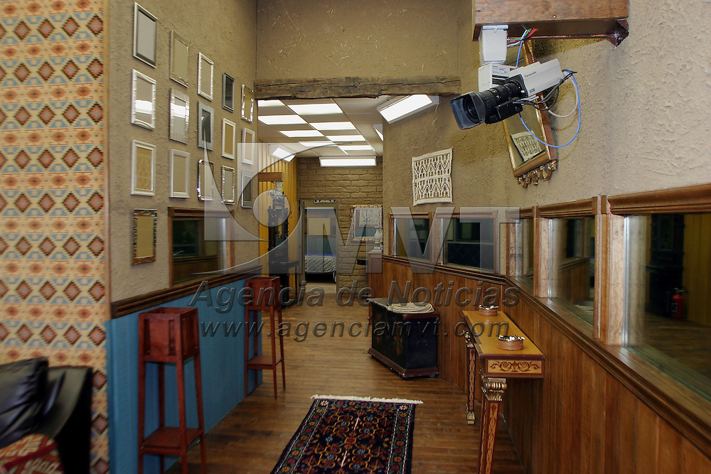 Zinacantepec, M&eacute;x.- Aspecto del interior de la hacienda Tejalpa que sera la casa donde se llevara a cabo la tercera edicion del reality show mexicano Big Brother. Agencia MVT / Mario Vazquez de la Torre. (DIGITAL)<br /> <br /> NO ARCHIVAR - NO ARCHIVE