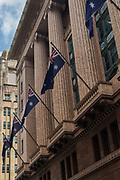 Open Sydney presented by Sydney Living Museuems. This event every year allows Sydneysiders to visit 40 of the city's most significant buildings and spaces across the CBD.External shots of Macquarie Bank, 50 Martin Place, Sydney