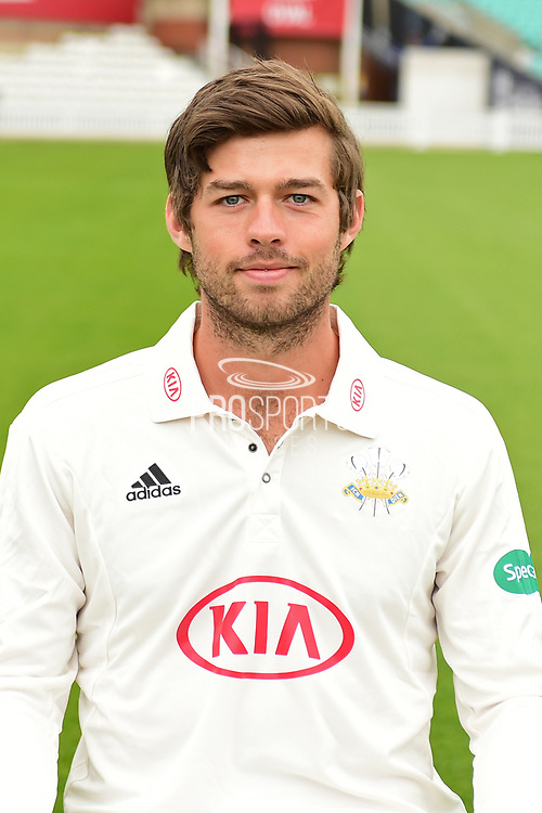 Ben Foakes portrait during the Surrey CCC Photocall 2017 at the Oval, London, United Kingdom on 4 April 2017. Photo by Jon Bromley.