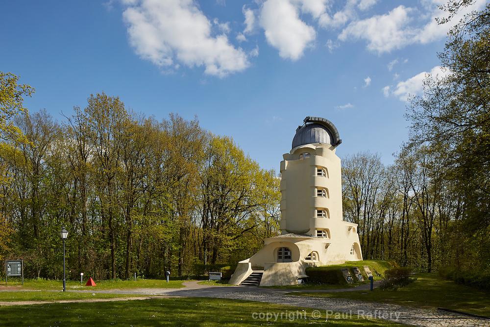 The Enstein Tower, an astrophyisical observatory in the Albert Einstein Science Park in Potsdam built by Erich Mendelsohn
