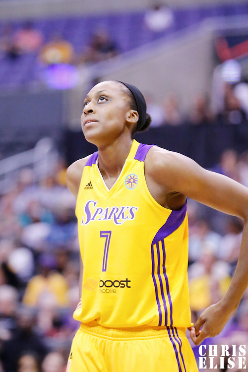 18 May 2014:  during the Phoenix Mercury 74-69 victory over the Los Angeles Sparks, at the Staples Center, Los Angeles, California, USA.