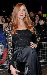 Rosalie Craig attends The 10th What's On Stage Awards at The Prince Of Wales Theatre, London on Sunday 15  February 2015