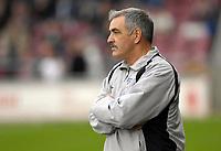 Photo: Daniel Hambury.<br />Northampton Town v Swansea City. Coca Cola League 1. 28/10/2006.<br />Northampton's manager John Gorman.