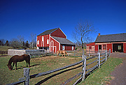 PA landscapes Daniel Boone Homestead, Berks Co., PA