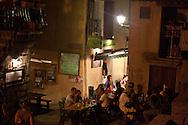 Corsica. France. Sartene, perched village on a montain , old city, the old middle age village  Corsica south .  France   / Sartene , village perché sur la montagne la vielle ville , les rues de la ville medievale Corse du sud .  France