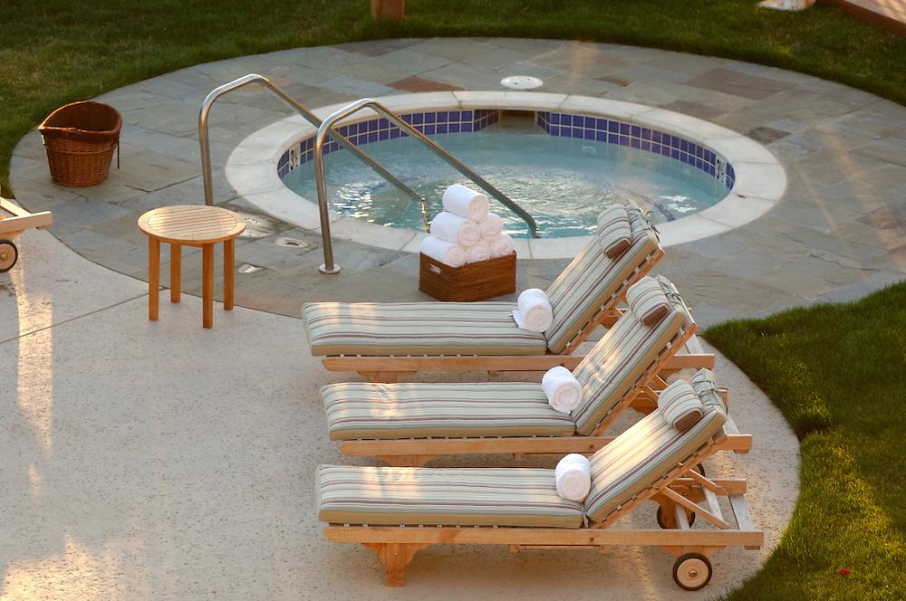 Jacuzzi, The Lodge at Tiburon, Tiburon, California, United States of America