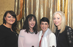 Linda Gorham, Rachel McNally, Siobhan Peyton and  Marie Fahy at Westport United&rsquo;s &lsquo;Stars in their Eyes&rsquo; on friday night last.<br />