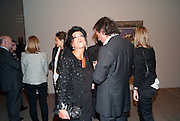 NANCY DELL D'OLIO; MARCO DICESARIA, Gauguin, Tate Modern. London. 28 September 2010. -DO NOT ARCHIVE-© Copyright Photograph by Dafydd Jones. 248 Clapham Rd. London SW9 0PZ. Tel 0207 820 0771. www.dafjones.com.