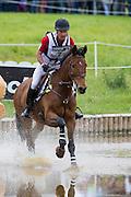 Peter Barry, (CAN), Kilrodan Abbott - Eventing Cross - Alltech FEI World Equestrian Games™ 2014 - Normandy, France.<br /> © Hippo Foto Team - Leanjo De Koster