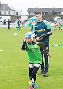 Killian Hynes Roscam with Galway hurler Cathal Mannion