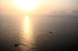 ATLANTIC OCEAN 14NOV14 - Chinese trawlers plough through the Atlantic Ocean off the coast of Guinea-Conakry and Guinea-Bissau. <br /> <br /> jre/Photo by Jiri Rezac / Greenpeace<br /> <br /> <br /> © Jiri Rezac 2014