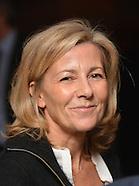 """Claire Chazal Marraine de l'Association """"L'école pour toutes"""""""