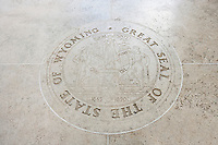 Great Seal of the State of Wyoming in Fort Bonifacio; Manila; Philippines