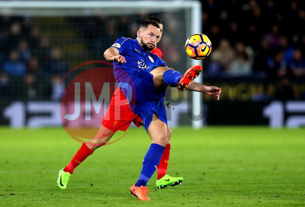 Daniel Drinkwater of Leicester City controls the ball - Mandatory by-line: Robbie Stephenson/JMP - 27/02/2017 - FOOTBALL - King Power Stadium - Leicester, England - Leicester City v Liverpool - Premier League
