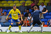 Leeds United Midfielder Ezgjan Alioski (10) during the Pre-Season Friendly match between Southend United and Leeds United at Roots Hall, Southend, England on 22 July 2018. Picture by Stephen Wright.