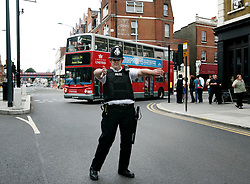 UK ENGLAND LONDON 21JUL05 - Metropolitan Police have cordoned off Shepherds Bush station following a minor blast on the Hammersmith and City Line. Minor explosions using detonators have occurred at three London Underground stations and a London double-decker bus earlier today...jre/Photo by Jiri Rezac ..© Jiri Rezac 2005..Contact: +44 (0) 7050 110 417.Mobile:  +44 (0) 7801 337 683.Office:  +44 (0) 20 8968 9635..Email:   jiri@jirirezac.com.Web:    www.jirirezac.com..© All images Jiri Rezac 2005 - All rights reserved.