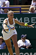 Karolina Pliskova (CZE) beats Angelique Kerber (GER) at the Nature Valley International 2019 at Devonshire Park, Eastbourne, United Kingdom on 29th June 2019.