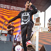 WASHINGTON, DC - August 17th, 2013 -  Travis $cott performs at the 2013 Trillectro Festival at the Half Street Fairgrounds in Washington, D.C. (Photo by Kyle Gustafson / For The Washington Post)