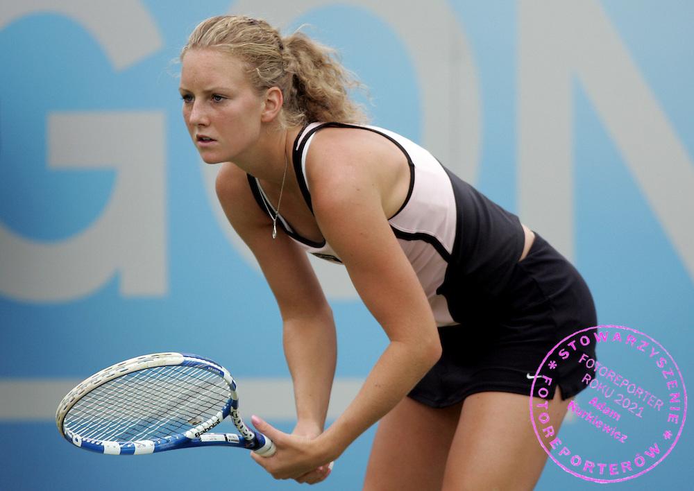 AEGON Classic 08/06/09 Urszula Radwanska (POL) wins her first round match 6-3 6-3. Photo Patrick McCann/Fotosports International